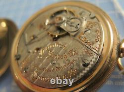 Hamilton 940, 18s, 21 Jewel Gold Filled Railroad Grade Pocket Watch Circa 1907