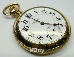 Hamilton 940 18s 21j 5adj Railroad Grade Providence Gold Fill Pocket Watch, Runs