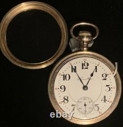 Hamilton 940 21j Pocket Watch 21 Jewels Double Roller Adjusted 5 Positions