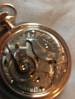 Hamilton 940 21j pocket watch banner special Rare! 23j Illinois