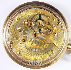Hamilton 940 Extra 21j 18s Rare 2-tone Railroad Pocket Watch