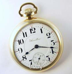 Hamilton 940 Special 21j 18s Beautiful 2-tone Railroad Pocket Watch