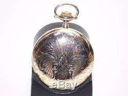 Hamilton 946 EXTRA 23J Pocket Watch with A. N. Anderson EXTRA Montgomery Dial
