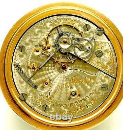 Hamilton 946 Railroad Pocket Watch Ca1905 Antique 23 Jewel 18 Size