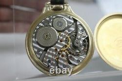 Hamilton 950B Model 6 16s 23 Jewel 14k Solid Gold Case Pocket Watch Runs