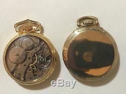 Hamilton 950B Railway Special Pocket Watch Salesman&Original Case RR Time 6 Pos