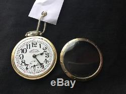 Hamilton 950b 23j Railway Special Pocket Watch. Running and Keeping time