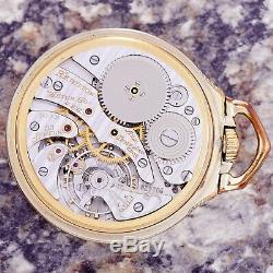 Hamilton 950b Railroad Pocket Watch Ca1959 16 Size, 23 Jewel