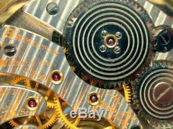 Hamilton 950b23 Jewels, Railroad Watch, Adj. 6 Positions, Bridge Plate Movement, Re
