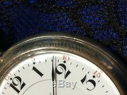 Hamilton 952 Railroad Pocket Watch in Factory Display Case