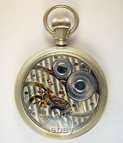 Hamilton 965 17 Jewel 16 Size Rare Bridge Model Pocket Watch