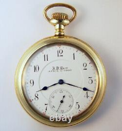 Hamilton 966 17 Jewel 16 Size Rare Pocket Watch