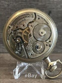 Hamilton 972 Pocket Watch, 17J, 16S, Serviced