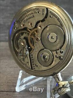 Hamilton 972 Pocket Watch, 17J, 16S, Serviced