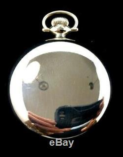 Hamilton 992 16 s 21 J 105 Years Old Railroad Pocket watch Near mint Condition