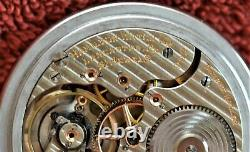 Hamilton 992 16S 21J RR Grade Pocket Watch Nice Condition