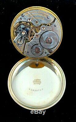 Hamilton 992 16s 21J Railroad Pocket watch Rose Gold Filled Near Mint Condition