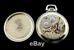 Hamilton 992 21J 16s Railroad Pocket watch Extra Fine Condition