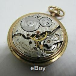 Hamilton 992 EARLY 1910 1st Pattern 21 Jewel RR Pocket Watch OUTSTANDING runs