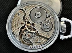Hamilton 992 Model 2, 21 Jewel 16 Size Railroad Pocket Watch SERVICED