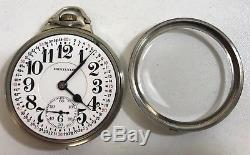 Hamilton 992 Railroad 16s 21 Jewel 14k White Gold Filled Pocket Watch