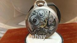 Hamilton 992 Railroad Grade Model 1-, 21J. 16S. Pocket Watch Running