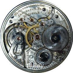 Hamilton 992 Railroad Pocket Watch 16S 21J LS with Original Fob Great Shape Runs