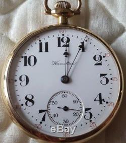 Hamilton 992 Railroad Pocket Watch ca 1934