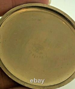 Hamilton 992B 10k gold filled pocket watch