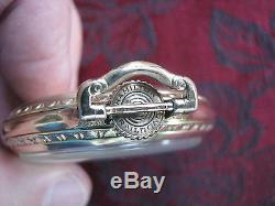 Hamilton 992B 21-jewel 16-size YGF Railroad Pocket Watch, Montgomery Dial