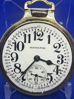Hamilton 992B Pocket Watch, BOC, 21J, 16S, #P831