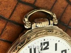 Hamilton 992B RR Special Pocket Watch 21Jewel Model 5, Adj. 6 Pos. C1943