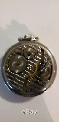 Hamilton 992B Railroad Special Pocket Watch 1940