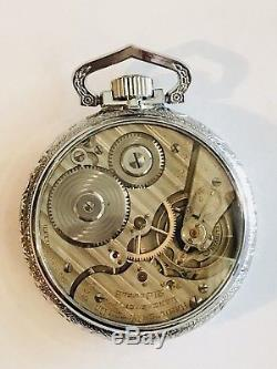 Hamilton 992E Elinvar16S 21J Railroad Pocket Watch Salesman Case Dead Accurate