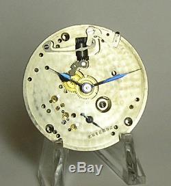 Hamilton 992E Pocket Watch Movement, and good hands
