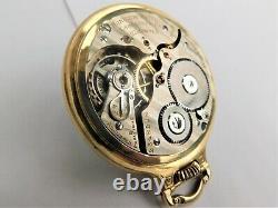 Hamilton 992E railroad pocket watch. Runs well