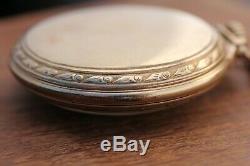 Hamilton 992b Pocket Watch 21j Railroad Grade 10k Gold Filled