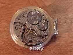 Hamilton 992b Pocket Watch. Boc Case, 21jewel