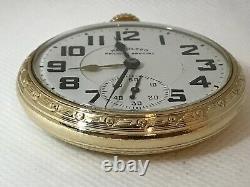 Hamilton 992b Railway Special Pocket Watch 21j. 16s. Dual Time Zone Serviced
