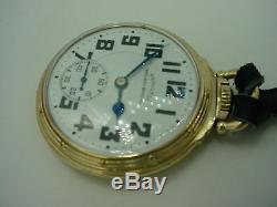 Hamilton 992b Railway Special Railroad Standard 21j Pocket Watch 1942