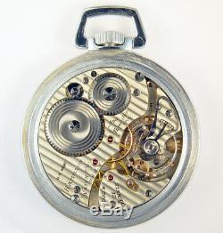 Hamilton 992b Us Army 21j 16s Low Serial C304 Military Pocket Watch