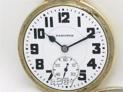 Hamilton 992e In Boc Factory Original 10k Gf Case Elinvar, Running