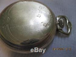 Hamilton 999p Ball Official Railroad Standard 21j Railroad Pocket Watch Est 1937