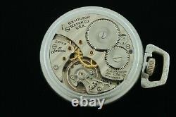 Hamilton Bureau of Ships 16s US Navy Comparing Pocketwatch Grade 2974B