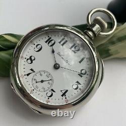 Hamilton Ca. 1906 Size 18S 924 Open Face Pocket Watch Serviced Serial 518078