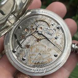 Hamilton Ca. 1915 Size 18S 940 21J Adjusted Pocket Watch Serviced RR GRADE