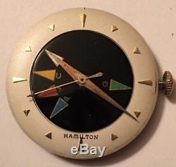 Hamilton Cross Country Watch. Rare Illinois Movement 17j 1956 5 Time Zones