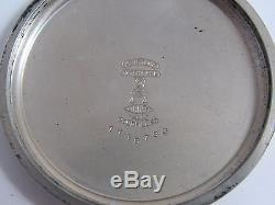 Hamilton Electric InterUrban Special 974 Size 16 17j Pocketwatch White GF Case