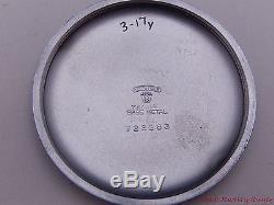 Hamilton GCT 1944 WWII Military 24 Hour 4992B 22j 16s Pocket Watch Service 3/17