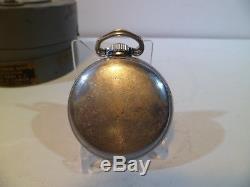 Hamilton GCT 22j WWII 4992B Military AN-5740 Army Pocket Watch Navigation Case
